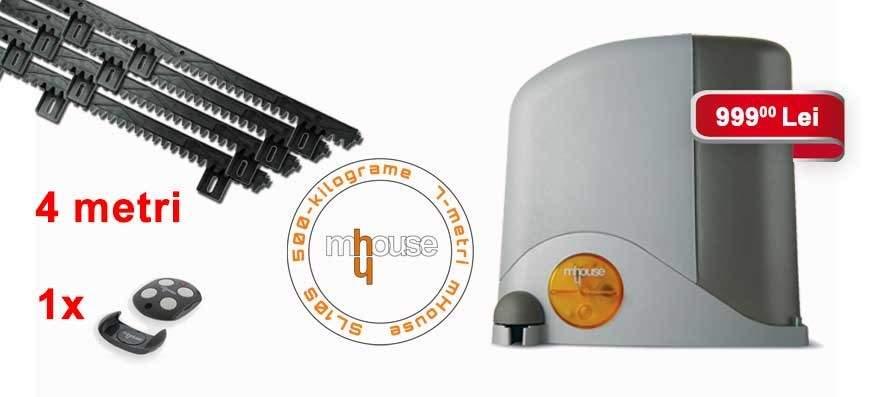 Automatizare poarti culisante mHouse SL10S/ECO